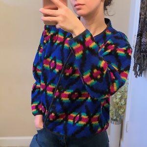 David Wayne vintage southwestern sweater